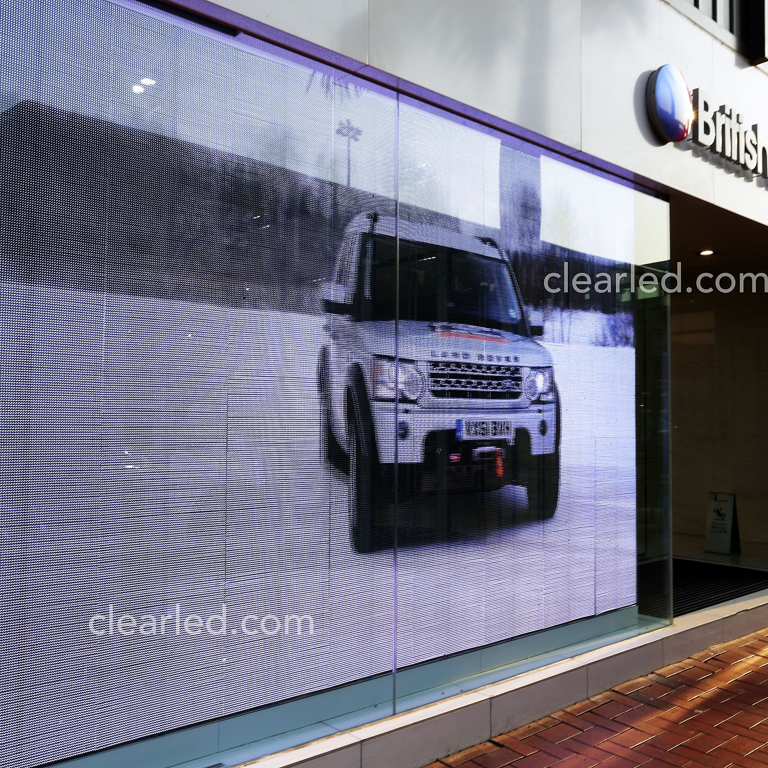 transparent led wall displays - clearled